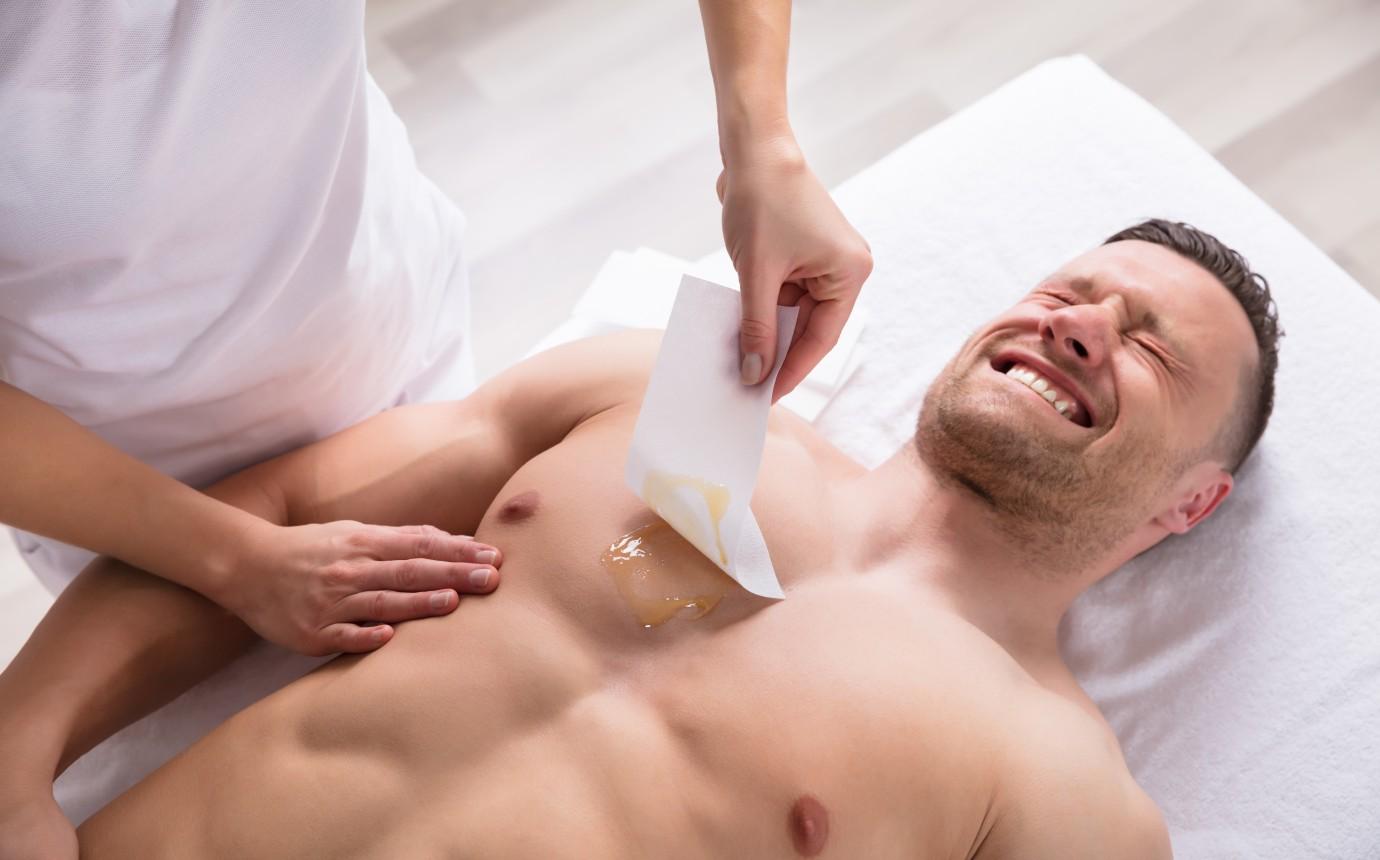 mann arsch rasieren
